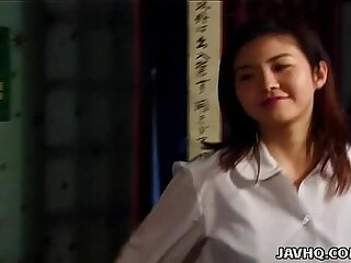 Asian hottie Tsukasa Okada nailed