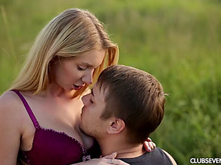 Delightful legal age teenager receives bonked in the wild just like this babe always wanted