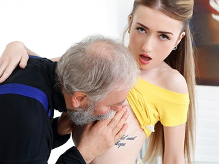 Empera in Old Man Fucks A Fresh Babe - Old-n-Young