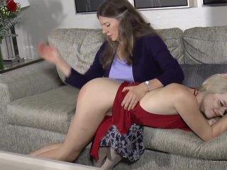 Mommy spanks sage