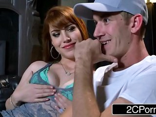 Redhead Teen Gwen Stark Knows What She Wants