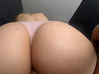 Groped beautiful young tattooed blonde 18 years old, slim and with a big white ass, and a beautiful pink vagina, spied on with the GoPro of the motorcycle, doing oral sex sitting on my chest