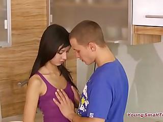 slim teen couple just turned 18